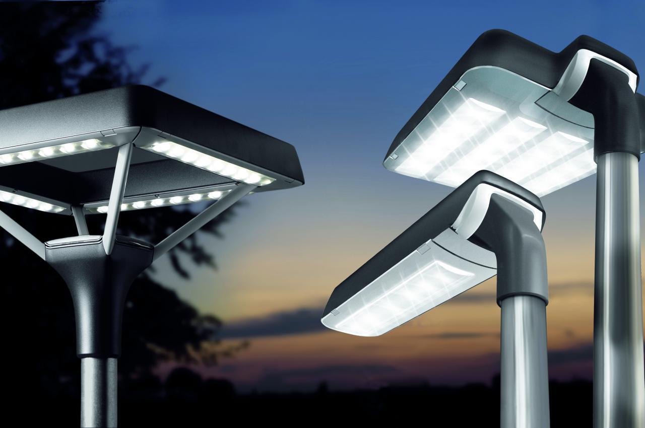 Mining press los municipios tendr n nuevo alumbrado for Luminarias de exterior led