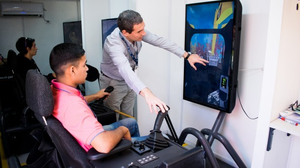 finning simulador en córdoba