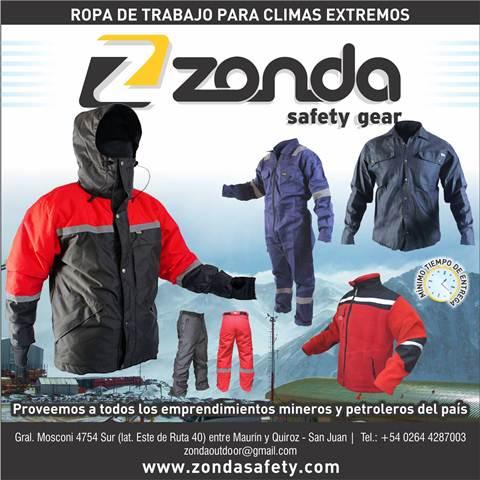ZONDA, ROPA DE TRABAJO PARA CLIMAS EXTREMOS Ni